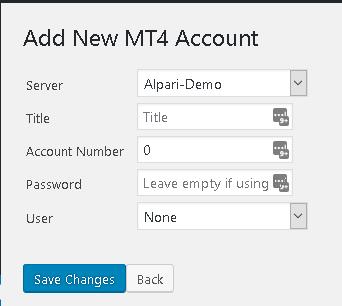 Metatrader WordPress Integration - Professional Developers